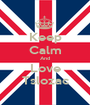 Keep Calm And Love Tslozac - Personalised Poster A1 size