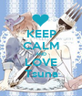 KEEP CALM AND LOVE Tsuna - Personalised Poster A1 size