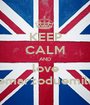 KEEP CALM AND love ventitremarzoduemilatredici - Personalised Poster A1 size