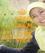 KEEP CALM AND LOVE VIII-I - Personalised Poster A1 size