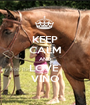 KEEP CALM AND LOVE  VINO - Personalised Poster A1 size