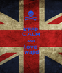 KEEP CALM AND love wajid - Personalised Poster A1 size
