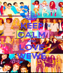 KEEP CALM AND LOVE WEWE - Personalised Poster A1 size