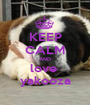 KEEP CALM AND love  yakooza - Personalised Poster A1 size