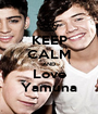 KEEP CALM AND Love Yamuna - Personalised Poster A1 size