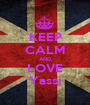 KEEP CALM AND LOVE Yassi - Personalised Poster A1 size