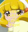 KEEP CALM AND LOVE Yayoi - Personalised Poster A1 size