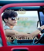 KEEP CALM AND LOVE YONG-HWA - Personalised Poster A1 size