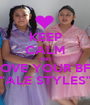 """KEEP CALM AND LOVE YOUR BFF """"ALE STYLES"""" - Personalised Poster A1 size"""