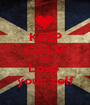 KEEP CALM AND Love  your zelf - Personalised Poster A1 size