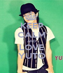 KEEP CALM AND LOVE YUTO - Personalised Poster A1 size