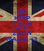 KEEP CALM AND LOVE ZAYN MALIK <3 - Personalised Poster A1 size