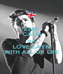 KEEP CALM AND LOVE ZAYN WITH ALL UR LIFE - Personalised Poster A1 size