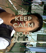 KEEP CALM AND LOVE ZULFA - Personalised Poster A1 size