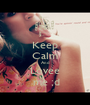 Keep Calm And Lovee  me ;d - Personalised Poster A1 size