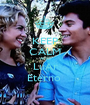KEEP CALM AND LuAr Eterno  - Personalised Poster A1 size