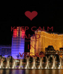 KEEP CALM AND LULIPOP IN VEGAS - Personalised Poster A1 size