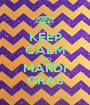KEEP CALM AND MARDI GRAS - Personalised Poster A1 size