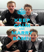 KEEP CALM AND MARRY BAM!! - Personalised Poster A1 size