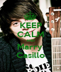 KEEP CALM AND Marry  Casillo - Personalised Poster A1 size