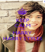 KEEP CALM AND MARRY  HARRY STYLES - Personalised Poster A1 size