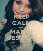 KEEP CALM AND MARRY JESSICA - Personalised Poster A1 size