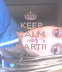 KEEP CALM AND MARTII ♥♥ - Personalised Poster A1 size