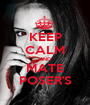 KEEP CALM AND MATE POSER'S - Personalised Poster A1 size