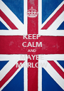 KEEP CALM AND MAYBE MARLOW - Personalised Poster A1 size