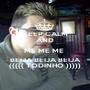 KEEP CALM AND ME ME ME  BEIJA BEIJA BEIJA ((((( TODINHO ))))) - Personalised Poster A1 size