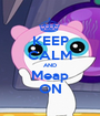 KEEP CALM AND Meap ON - Personalised Poster A1 size