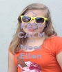 KEEP CALM AND Meet Ellen - Personalised Poster A1 size