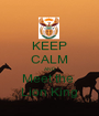 KEEP CALM AND Meet the  Lion King - Personalised Poster A1 size