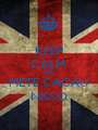 KEEP CALM  AND METE CACAU NISSO - Personalised Poster A1 size