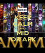KEEP CALM AND MID  OR AFK - Personalised Poster A1 size