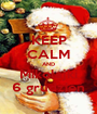 KEEP CALM AND Mikołajki 6 grudzień - Personalised Poster A1 size