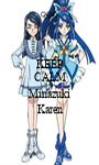 KEEP CALM AND Minazuki Karen - Personalised Poster A1 size