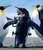 KEEP CALM AND Mingle  - Personalised Poster A1 size