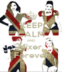 KEEP CALM AND Mixer  Forever - Personalised Poster A1 size