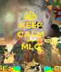 KEEP CALM AND MLG  - Personalised Poster A1 size