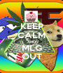 KEEP CALM AND MLG OUT - Personalised Poster A1 size