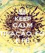 KEEP CALM AND MOTIVAÇÃO, FOCO  E FÉ - Personalised Poster A1 size