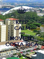 KEEP CALM AND MOVE TO COSTA RICA - Personalised Poster A1 size
