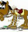 KEEP CALM AND MUCK OUT - Personalised Poster A1 size