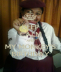 KEEP CALM AND MY MONKEY'S BIRTHDAY - Personalised Poster A1 size