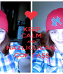 KEEP CALM AND NAZLICLICAN  ÇOK TAŞŞ - Personalised Poster A1 size