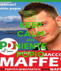 KEEP CALM AND NIENTE POPIO - Personalised Poster A1 size