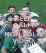 KEEP CALM AND NON SOLO VIDEO - Personalised Poster A1 size
