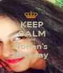 KEEP CALM and NoRan's  Birthday  - Personalised Poster A1 size