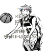KEEP CALM and OBEY  FURIHATA-kun - Personalised Poster A1 size